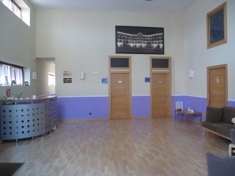 Hall del Tanatorio de Tarazona