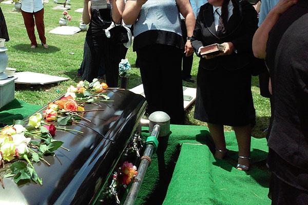 muerte y funeral